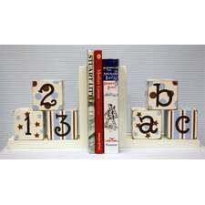 ABC 123 Book Ends (Set of 2)