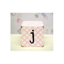 """""""j"""" Letter Block"""