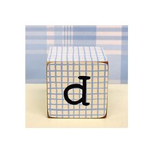 "<strong>New Arrivals</strong> ""d"" Letter Block in Blue"