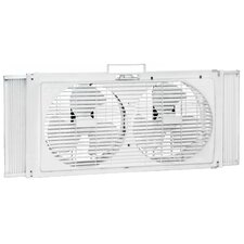"9"" Portable Twin Window Fan"
