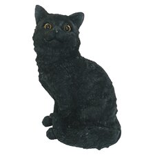 <strong>Michael Carr</strong> Cat Sitting Up Statue