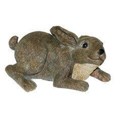 Rabbit Pounce Statue