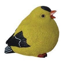 Fat Goldfinch Statue