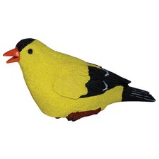 Goldfinch Chirper Statue