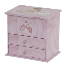 Casey Girl's Musical Ballerina Jewelry Box