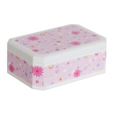 Hayley Girl's Glittery Musical Ballerina Jewelry Box