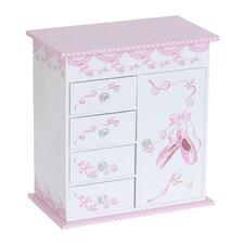 Cristiana Girl's Musical Ballerina Jewelry Box
