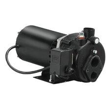 3/4 HP Cast-Iron Convertible Well Jet Pump