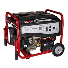 6,500 Watt Portable Gasoline Generator