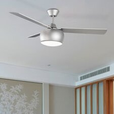 Mauritius 2 Light Ceiling Fan in Grey Texture with Remote