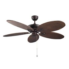 Phuket Ceiling Fan in Copper Brown