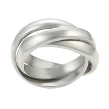 Sterling Silver 3 Band Rolo Ring