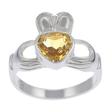 Sterling Silver Genuine Claddagh Ring