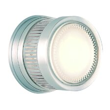Gear 1 Light Outdoor Wall/Ceiling Light