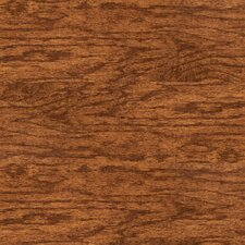 "Solidity 40 Handscraped 6"" x 36"" Vinyl Plank in Heritage"