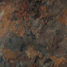 "Solidity 40 Slate 16"" x 16"" Vinyl Tile in Athena"