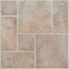 SAMPLE - American Random Tumbled Stone Vinyl Tile in San Remo