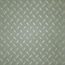 <strong>Metroflor</strong> SAMPLE - Metro Design Textured Metallic Tile Vinyl Tile in Green