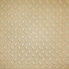 SAMPLE - Metro Design Textured Metallic Tile Vinyl Plank in Gold