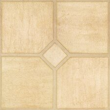 SAMPLE - Solidity 30 Venetian Travertine Vinyl Tile in Capri