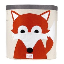 <strong>3 Sprouts</strong> Fox Storage Bin