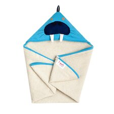 <strong>3 Sprouts</strong> Blue Walrus Hooded Towel