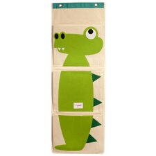 <strong>3 Sprouts</strong> Crocodile Wall Toy Organizer