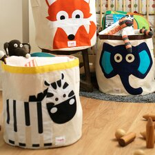 <strong>3 Sprouts</strong> Zebra Kids Storage Bin