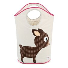 <strong>3 Sprouts</strong> Deer Laundry Hamper
