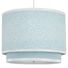Raindrops Double Cylinder Light in Aqua