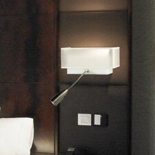 Tyra 1 Light Swing Arm Wall Lamp with Reading Light