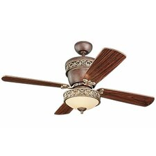 "<strong>Monte Carlo Fan Company</strong> 42"" or 28"" Villager 4 Blade Ceiling Fan"