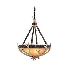 Great Lodge 5 Light Inverted Pendant