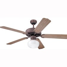 "52"" Weatherford 5 Blade Ceiling Fan with Remote"
