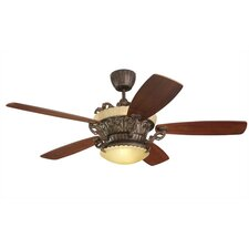 "56"" Strasburg 5 Blade Ceiling Fan with Remote"