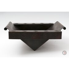<strong>Ambiente</strong> Copper Handmade Rectangular Bathroom Sink