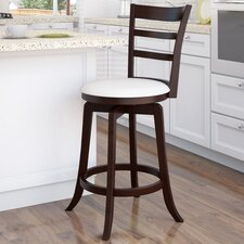 Woodgrove Three Bar Design Wooden Barstool
