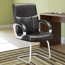 Workspace Mid-Back Conference Chair with Arms (Set of 2)