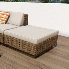 Park Terrace Ottoman with Cushion