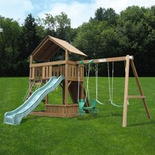 Comet Wooden Swing Set