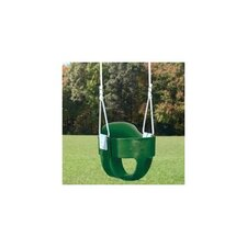 Bucket Toddler Swing Seat with Rope