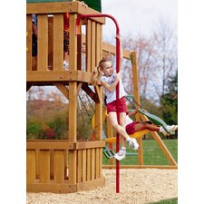 <strong>Playtime Swing Sets</strong> Fireman's Pole