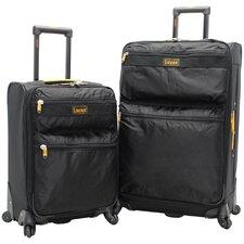 Expandable 2 Piece Luggage Set