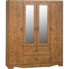 Cairo 4 Door Wardrobe