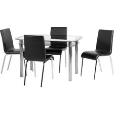 Harlequin 5 Piece Dining Set