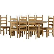 Corona 9 Piece Extendable Dining Set