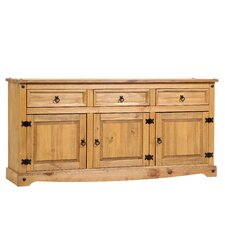 Corona 3 Drawer Sideboard
