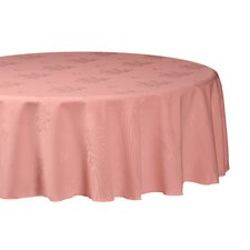 Damask Rose Round Tablecloth