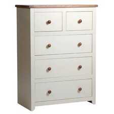 Jamestown 2 Over 3 Drawer Chest