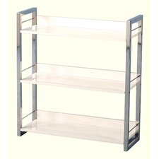 Boston Three Shelf Bookcase/Display Unit in Black